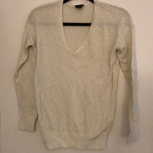 Ann Taylor Long sleeve V neck sweater